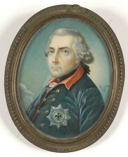 """""""King Friedrich the Great"""", by follower of Anton Graff, late 19th century"""