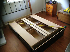 King Soft Side Waterbed with 4 drawers, Complete *New*