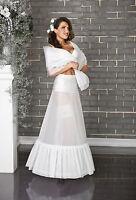 Wedding Gown Prom Petticoat Underskirt Crinoline Dress S M L XL XXL -220
