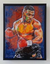 Boxing Mike Tyson Limited Edition of 86 Art Resin Canvas By Patrick J. Killian