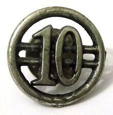 Pin Spilla Numero 10