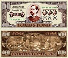 TOMBSTONE WYATT EARP BILLET MILLION DOLLAR US ! OK CORRAL Série Western Gangster