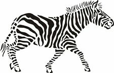 High Detail Zebra Airbrush Stencil - Free UK Postage