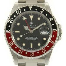Authentic ROLEX 16710 GMT Master II SS Automatic  #260-001-798-2252