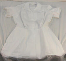 NWT AUTHENTIC Nurse Uniform Hospital Duty Dress White 18R 8410-01-277-3676