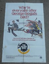 1975 THE BLACK BIRD 1 SHEET MOVIE POSTER GEORGE SEGAL COMEDY
