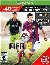 FIFA 15 -- Ultimate Edition (Microsoft Xbox One, 2014)