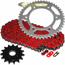 Red O-Ring Drive Chain & Sprockets Kit Fits HONDA XR650L 1993-2017