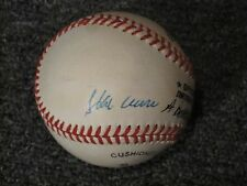 Hank Aaron Autographed Baseball JSA Auction AUTHENTICATED