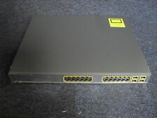 CISCO WS-C3750G-24PS-S   Catalyst 3750 24 10/100/1000T PoE + 4 SFP + IPB Image