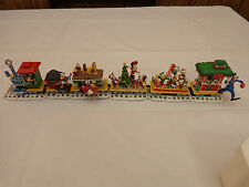 Danbury Mint Disney Mickey's Christmas Train Christmas Mickey Mouse Train