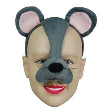 Noisy Mouse Mask With Sound FX Animal Fancy Dress Costume Accessory P1604