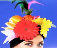 COPACABANA Latin Cha Cha Dancer Carmen Miranda Mardi Gras FRUIT HAT HEADGEAR New