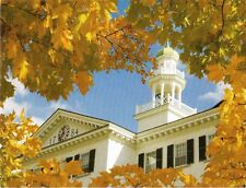 Postcard New Hampshire Hanover Dartmouth College Dartmouth Hall in Autumn MINT