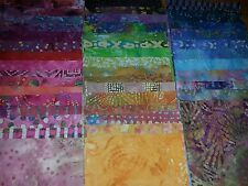 "Lot#a, 100pcs BATIK quilt blocks, cotton fabric layer cake pack, 4"" squares"