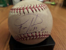 Felix Hernandez Autographed Game Used Ball Holo MR 378068 with Case