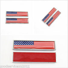 2 Pcs American National Flag Logo Body Decorative 3M Stickers For Us Motorcycle (Fits: Mastiff)