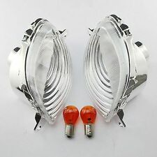 Clear Front Turn Signals Light For Suzuki Hayabusa GSX1300R 1999-2007