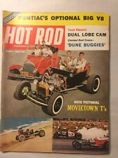 Vintage 1960s Hot Rod Car Magazine - March 1961 - Dune Buggies, Movie Model Ts