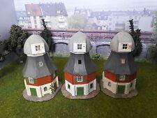 3 Windmühlen H0, fertig gebaut, gebraucht (574)