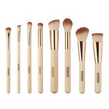 8Pcs Bamboo Makeup Brushes Set Foundation Powder Eyeshadow Eyeliner Lip Brush US