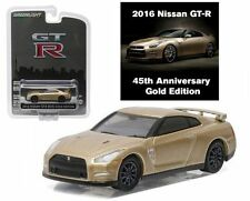 GREENLIGHT 1:64 45TH ANNIVERSARY COLLECTION 2016 NISSAN GT-R DIECAST CAR 27850-F