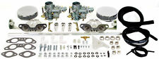 VW Volkswagen Dual Carburetor Kit Type 4 & Type 2 Weber 34 EPC copy EMPI 47-7412