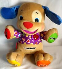 2007 Fisher Price Laugh And Learn Puppy Dog Stuffed Animal Educational