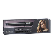 Babyliss Black Conical Wand 32-19mm Hair Curling Tong 210c NEW IMPROVED VERSION