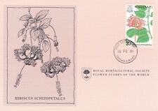 First Day Cover : KIRIBATI 1981 Royal Horticultural Society Flower Stamp! (C)