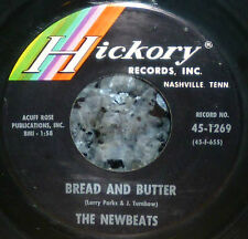 """* * THE NEWBEATS falsetto 1964 #2 HIT """"BREAD & BUTTER"""" CLEAN M- 1st pressing 45!"""