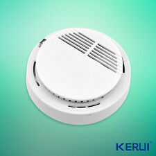 1pcs 80dB Wireless Smoke Fire Detector sensor For Home Burglar Alarm System