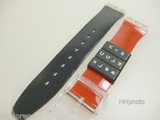 "SWATCH: ORIGINAL-ARMBAND ""FIND THE CODE"" =  FÜR STANDARD, CHRONO, ETC. *NEU!*"