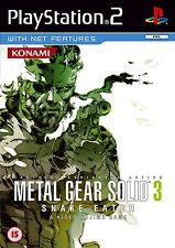 Metal Gear Solid 3: Snake Eater Sony PS2 PAL Brand New