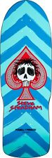 Powell Peralta Steve Steadham SPADE Skateboard Deck AQUA/BLUE