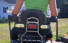 MOTORCYCLE PASSENGER REAR SEAT ARMREST SPORT CRUISER