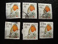 IRLANDE - timbre yvert et tellier n° 980 x6 obl (A31) stamp ireland (Z)