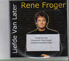 Rene Froger-Liefde van Later Promo cd single