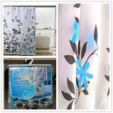 Classic  Bathroom Curtain Bath Curtain Waterproof Water Floral Shower Curtain LD