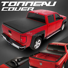 HIDDEN ROLL-UP VINYL TONNO TONNEAU COVER FOR 73-98 FORD F-SERIES 6.5' SHORT BED