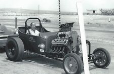 "1950's Drag Racing-""Wild Willy"" Borsch-Jim's Auto Parts A/Roadster-Blown Hemi"