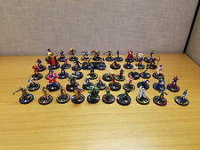 Lot of 50 Wizkids Heroclix, Marvel, DC and other, excellent condition!