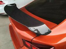 SARD Style Carbon Fiber Rear Spoiler Wing For Toyota Gt86 Subaru BRZ Black