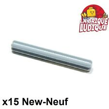 Lego Technic- 15x Axe Axle 5 gris clair/light bluish gray 32073 NEUF