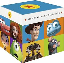 Disney Pixar Complete Collection BLU RAY Cars, Monster - New/Sealed - Fast Ship