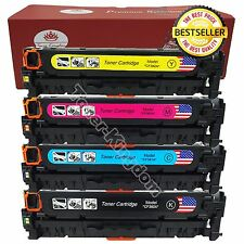 Set of 4 PK 312X CF380X Toner Cartridge For HP Color LaserJet Pro M476 nw dn dw