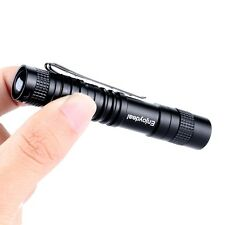new CREE XPE-R3 LED 1000 Lumens Lamp Clip Mini Penlight Flashlight Torch AAA