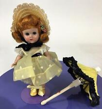 Vogue Ginny Vtg Doll Bon Bons 1955 #83 MLSLW Auburn Redhead Beauty Umbrella