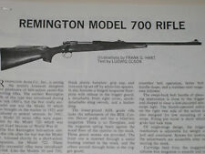 REMINGTON MODEL 700 RIFLE EXPLODED VIEW