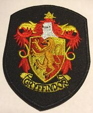 """Harry Potter Gryffinder Hogwarts Shield Embroidered Iron On Patch (2.25""""x3"""")"""